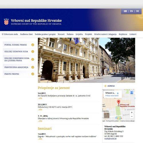 Supreme Court of the Republic of Croatia